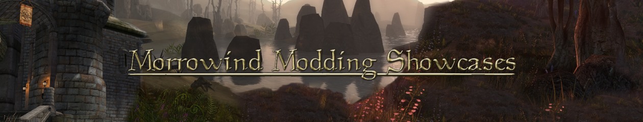 Morrowind Modding Showcases